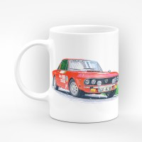 Порцеланова чаша с илюстрация  - Lancia
