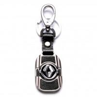 Автомобилен ключодържател с метална пластинка - Renault