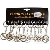 Сувенирни метални ключодържатели - емблеми на извести марки автомобили