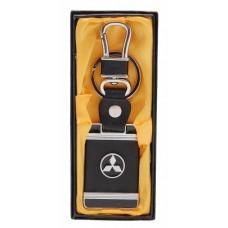 Стилен ключодържател с пластина - Mitsubishi