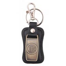 Ключодържател, изработен от кожа с метална пластина - BMW