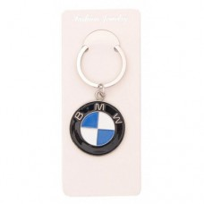 Автомобилен ключодържател с кръгла пластина - BMW
