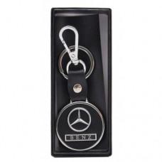 Автомобилен ключодържател с кръгла пластина - Mercedes
