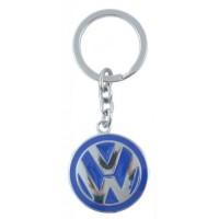Автомобилен ключодържател с кръгла емблема - VW