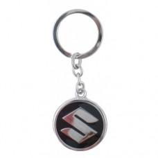 Автомобилен ключодържател с кръгла емблема - Suzuki