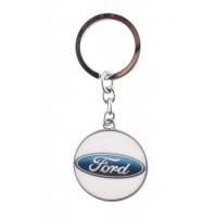 Автомобилен ключодържател с кръгла емблема - Ford