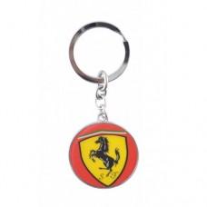 Автомобилен ключодържател с кръгла емблема - Ferrari