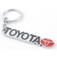 Автомобилен ключодържател - метална пластина - Toyota