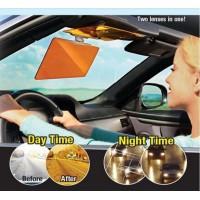 Двоен визьор за кола против заслепяване