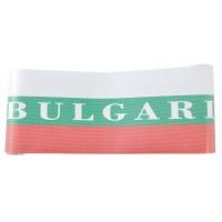 Перфорирано фолио за автомобини стъкла в цветовете на българския трикольор и надпис Bulgaria